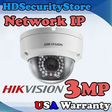 3 Megapixel Network IP Security Camera HD 4mm Dome Hikvision DS-2CD2132-I MultiL