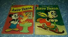 Walter lantz's Andy panda 19 29 dell comics lot run set golden age collection