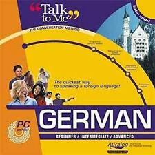 AURALOG Talk To Me GERMAN Language Course - Brand New
