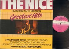 The NICE Greatest Hits LP featuring KEITH EMERSON ao Bob Dylan My Back Pages