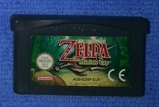 Zelda The Minish Cap Eccellente GameBoy Advance GBA Pal Eur Batteria Funzionante