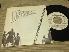 "INVADERS - SPANISH 7"" SINGLE SPAIN PROMO FICTION 80 - NEW WAVE POWER POP BEST"