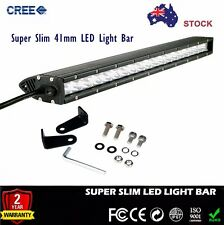 22'' Cree Single Row Mini Slim LED Light Bar 100w For 4X4 Offroad Driving Bulbs