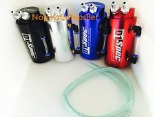 Universal Spec JDM Racing Turbo Blue  Oil Catch Tank Can Reservoir Performance