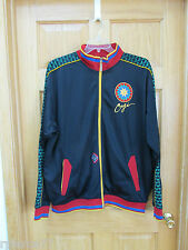 COOGI Embroidered Zippered Athletic Track Jacket Indian Chief Headdress XXL VGC