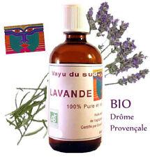 Huile Essentielle BIO de LAVANDE -500 ml- 1/2 litre-  Drôme Provençale