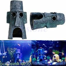 Aquarium Aquatic Animals Hide House Home Fish Tank Landscaping Ornament Decor