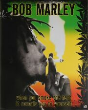 BOB MARLEY POSTER (40x50cm) REEFER QUOTE NEW LICENSED ART