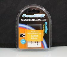 184407 RECHARGEABLE NB-8L REPLACEMENT BATTERY FOR CANON NEW