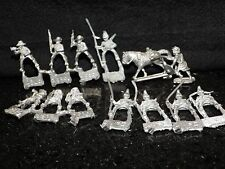 15Mm Cavalry Riders Lot Dungeons Dragons Miniature Fighter Metal Horse Medieval