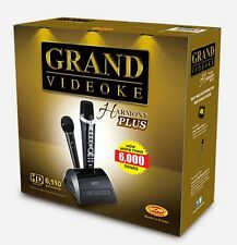 GRAND VIDEOKE HARMONY PLUS - HD SOUND, NOW WITH MORE THAN 6,000 BUILT-IN SONGS