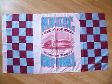 Flags- W H U FC- Come on you Irons ! 2006 CUP FINAL at Millennium Stadium (Org*)