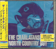 CHARLATANS UK North Country Boy 4TRX UNRELEASED JAPAN CD Single SEALED USA Seler