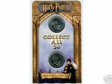 Harry Potter Coin, Coins SEALED & Brand NEW ASDA Gringotts Savings Bank Carded