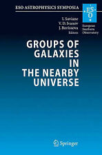 Groups of Galaxies in the Nearby Universe: Proce, , Very Good