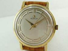 Authentic Gubelin Solid 18K Gold Automatic Men's Watch