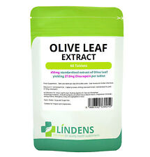 OLIVE LEAF EXTRACT 450MG 60 TABLETS HIGH POTENCY NATURAL HEALTH