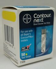 50 Bayer Contour Next Test Strips (7308) NDC# 0193-7308-50 Exp. 01/2018