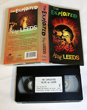 The Exploited - Alive At Leeds (VHS, 1995) 5025195951192