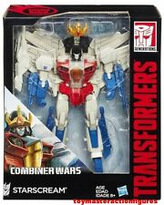 TRANSFORMERS GENERATIONS COMBINER WARS STARSCREAM LEADER CLASS USA In Stock Now!