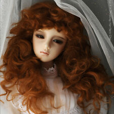 "Dollmore  1/3BJD OOAK Supplier SD wig (8-9)""  Monghanjuc Mohair (Carrot)"