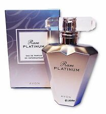 AVON Rare Platinum Women's Perfume, Eau de Parfum Spray, Genuine 50ml