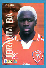 Cards-Figurina/Stickers TOP CALCIO 2000 MUNDI CARDS n.125 - IBRAHIM BA -PERUGIA
