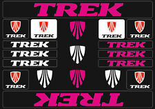 Trek Mountain  Bicycle Frame Decals Stickers Graphic Adhesive Set Vinyl Purple