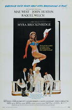 Myra Breckinridge Raquel Welsh Vintage movie poster print