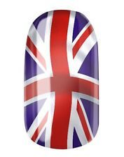 UNION JACK FLAGGE NAGELFOLIEN... NAIL WRAPS by GLAMSTRIPES 0426
