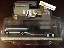 Greenlight * Hitch & Tow * 1977 G20 Van & Flatbed Trailer * Series 3