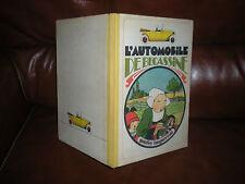L'AUTOMOBILE DE BECASSINE - EDITION 1976 DOS TOILE