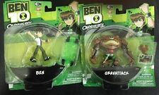 Ben 10 2pcs, Omniverse Action Figure, GRAVATTACK,BEN32348, 3 Inches