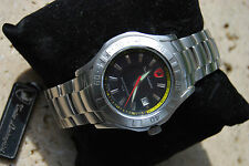 Montre Homme Tonino Lamborghini ' The Gear' Black Acier inoxydable 824.21 RARE !
