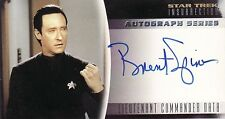 Star Trek Insurrection Brent Spiner / Data A3 Auto Card