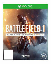 New Battlefield 1Early Enlister Deluxe Edition Xbox One Physical Disc Free Ship
