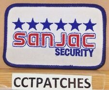 SAN JAC SECURITY (POLICE) SHOULDER PATCH
