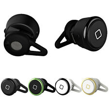 Mini Wireless Bluetooth Headset Para Smartphone Fone de ouvido Color Negro