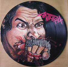 ANTHRAX FISTFUL OF METAL VINYL PICTURE DISC LP 1985 1st Pressing! MFN 14 P
