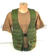 USGI Army Military Woodland Camo MOLLE II Fighting Load Carrier VEST FLC NICE
