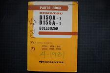 KOMATSU D150A-1 DOZER CRAWLER TRACTOR Parts Manual Book Catalog spare 1981 SHOP