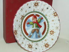 VILLEROY & BOCH TOYS FANTASY FLUTED DISH CHRISTMAS LITTLE BOY BRAND NEW BOXED