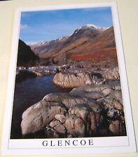 Scotland Glencoe Over Allt Lairig Eilde Towards Aonach Eagach Glencoe LG-75-1291