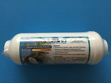 """REVERSE OSMOSIS IN-LINE CARBON FILTER 6 X 2 1/4"""" FPT THREADED ENDS - 9 FILTERS"""