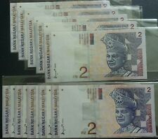 MALAYSIA 8th RM2. 10pcs~AU/EF - foxing