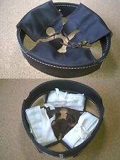 Coiffe intérieure cuir brun foncé casque Allemand M16 WWI taille 64