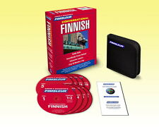 New 8 CD Pimsleur Learn to Speak conversational FINNISH Language