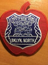 PATCH POLICE NEW YORK CITY NYPD - BKLYN NORTH - NY state