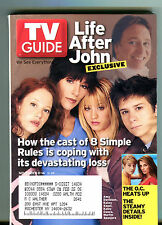 TV Guide Magazine November 8-14 2003 8 Simple Rules The O.C. EX 062816jhe