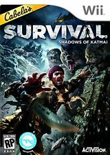 Cabela's Survival Shadows of Katmai WII! HUNT, BEARS, WOLVES, ALASKA